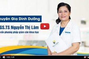 Chuyên gia dinh dưỡng PGS.TS Nguyễn Thị Lâm nhận định gì công nghệ giảm béo Max Burn Lipo 2020 siêu hủy mỡ