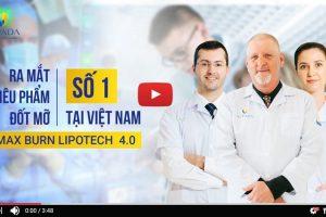 Siêu phẩm công nghệ giảm béo Max Burn LipoTech 2020 – Sự kết hợp hoàn hảo giữa công nghệ và trí tuệ nhân tạo